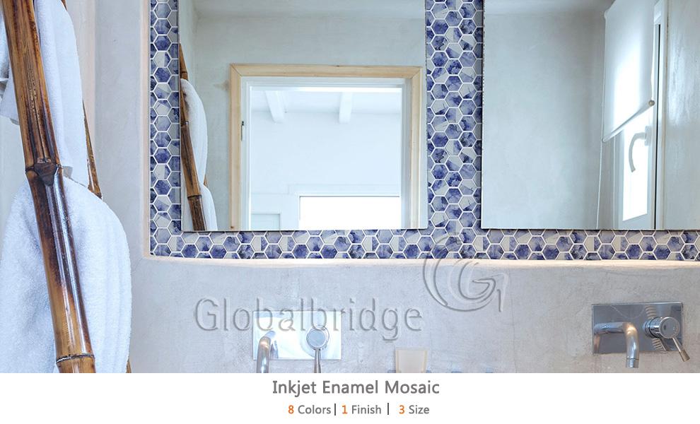 Inkjet Enamel Mosaic