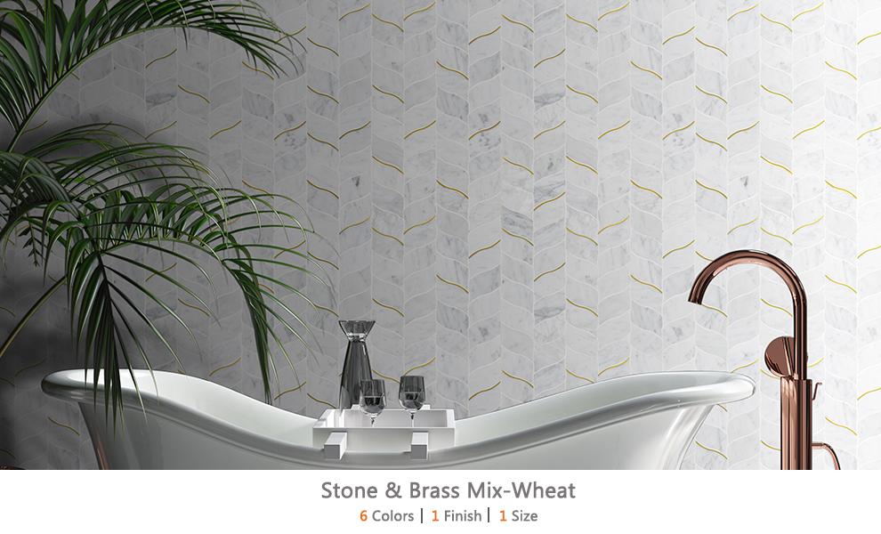 Stone & Brass Mix-Wheat