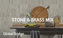 Stone & Brass Mix
